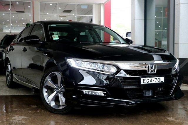Demo Honda Accord 10th Gen MY19 VTi-LX, 2019 Honda Accord 10th Gen MY19 VTi-LX Crystal Black 1 Speed Constant Variable Sedan