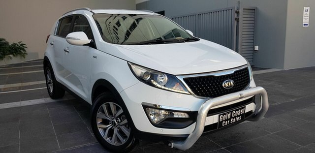 Used Kia Sportage SL Series 2 MY15 SLi(AWD), 2015 Kia Sportage SL Series 2 MY15 SLi(AWD) White 6 Speed Automatic Wagon
