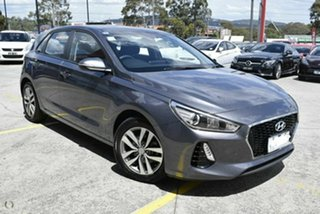 2018 Hyundai i30 PD2 MY18 Active Iron Grey 6 Speed Sports Automatic Hatchback.