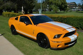 2006 Ford Mustang Shelby GT500 Orange Manual Hatchback.