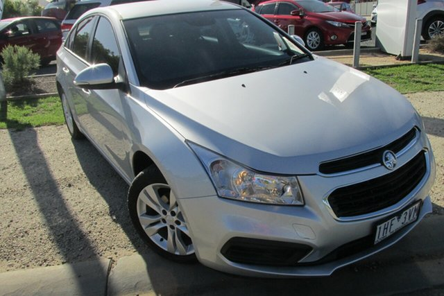 Used Holden Cruze JH Series II MY16 Equipe, 2015 Holden Cruze JH Series II MY16 Equipe Silver 6 Speed Sports Automatic Sedan