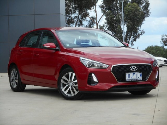 Used Hyundai i30 PD2 MY18 Active, 2018 Hyundai i30 PD2 MY18 Active Red 6 Speed Sports Automatic Hatchback