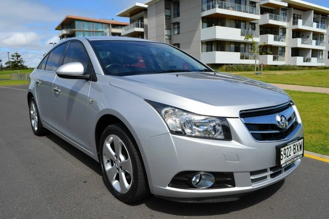 Used Holden Cruze JG CDX, 2010 Holden Cruze JG CDX Silver 5 Speed Manual Sedan
