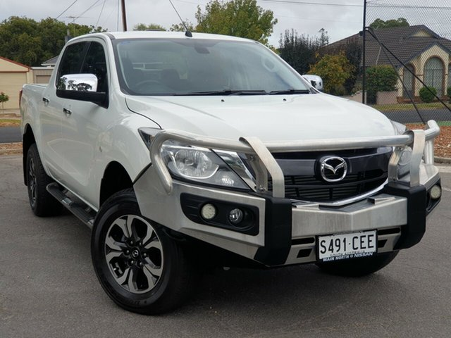 Used Mazda BT-50 UR0YG1 XTR Freestyle, 2017 Mazda BT-50 UR0YG1 XTR Freestyle White 6 Speed Sports Automatic Utility
