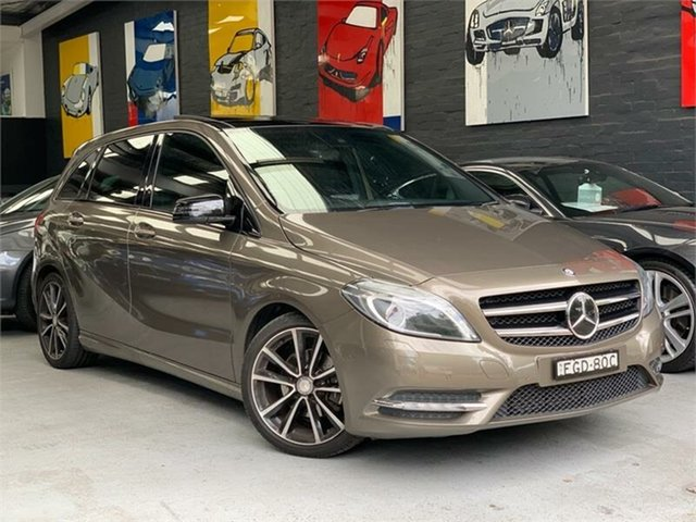Used Mercedes-Benz B-Class W246 , 2012 Mercedes-Benz B-Class W246 B200 CDI BlueEFFICIENCY Monolith Grey Sports Automatic Dual Clutch
