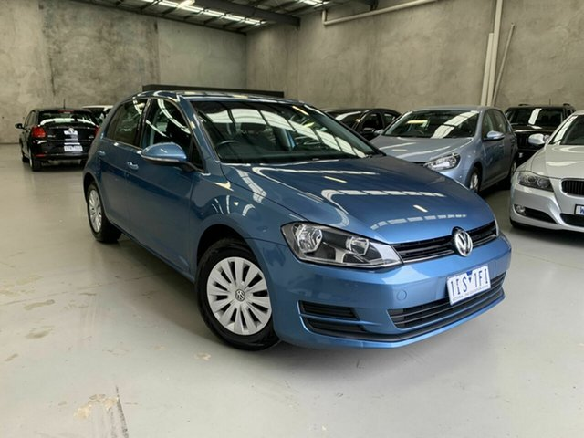 Used Volkswagen Golf VII MY17 92TSI DSG Comfortline, 2016 Volkswagen Golf VII MY17 92TSI DSG Comfortline Blue 7 Speed Sports Automatic Dual Clutch