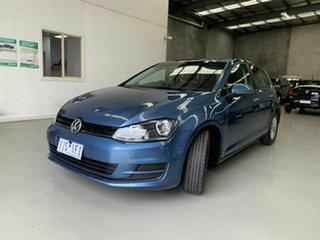 2016 Volkswagen Golf VII MY17 92TSI DSG Comfortline Blue 7 Speed Sports Automatic Dual Clutch.