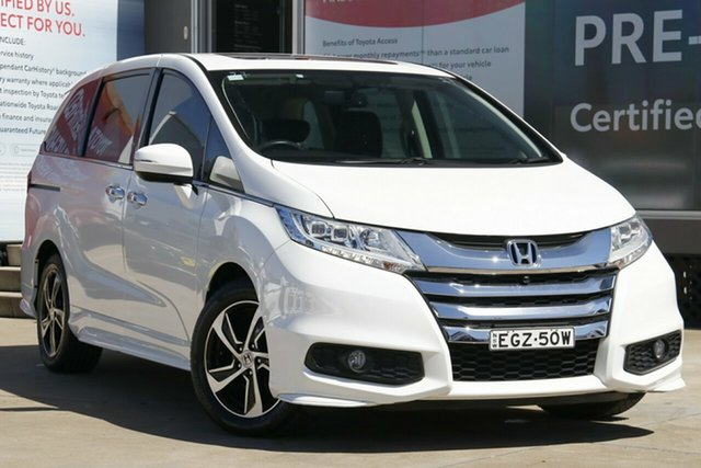 Used Honda Odyssey RC MY16 VTi-L, 2016 Honda Odyssey RC MY16 VTi-L White Orchid Continuous Variable Wagon