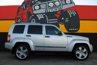 2012 Jeep Cherokee KK MY12 JET Bright Silver 4 Speed Automatic Wagon.