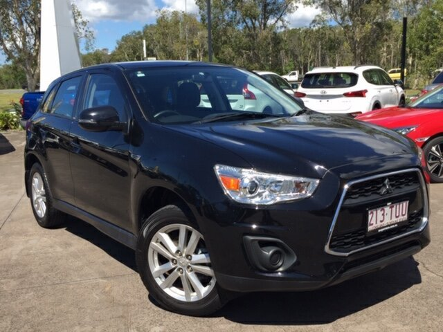 Used Mitsubishi ASX XB MY14 , 2014 Mitsubishi ASX XB MY14 Black 6 Speed Sports Automatic Wagon