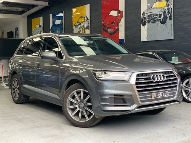 Used Audi Q7 4M TDI, 2016 Audi Q7 4M TDI Grey Sports Automatic Wagon