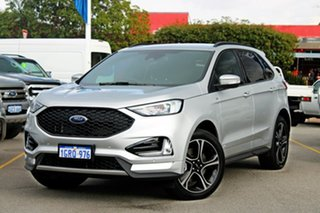 2018 Ford Endura CA 2019MY ST-Line SelectShift AWD Silver 8 Speed Sports Automatic Wagon.