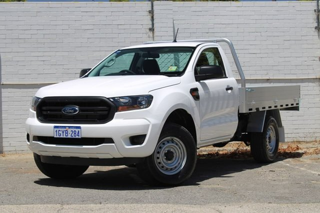 Demo Ford Ranger PX MkIII 2019.00MY XL, 2019 Ford Ranger PX MkIII 2019.00MY XL White 6 Speed Sports Automatic Cab Chassis