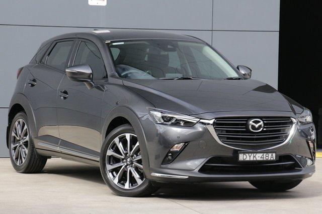Used Mazda CX-3 DK2W7A sTouring SKYACTIV-Drive, 2018 Mazda CX-3 DK2W7A sTouring SKYACTIV-Drive Grey 6 Speed Sports Automatic Wagon