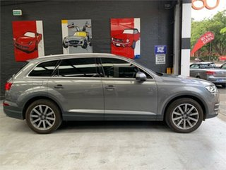 2016 Audi Q7 4M TDI Grey Sports Automatic Wagon