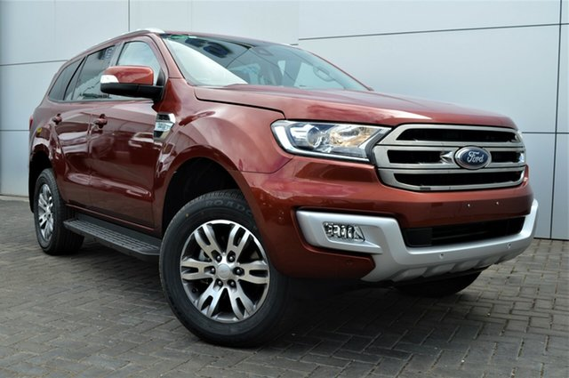 Used Ford Everest UA Trend RWD, 2016 Ford Everest UA Trend RWD Maroon 6 Speed Sports Automatic Wagon