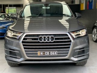 2016 Audi Q7 4M TDI Grey Sports Automatic Wagon.