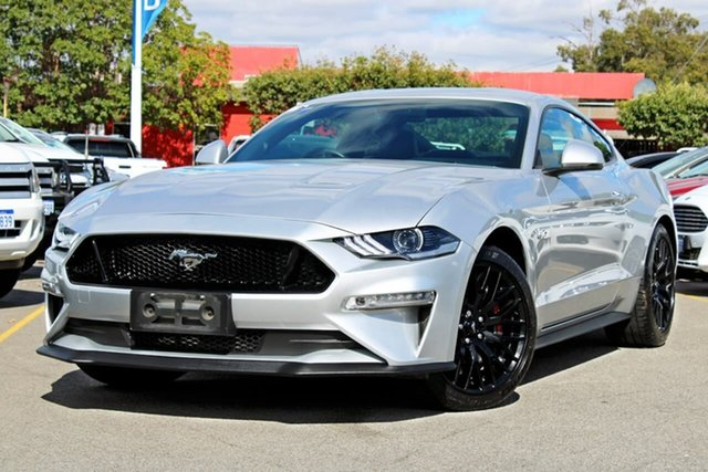 Used Ford Mustang FN 2018MY GT Fastback SelectShift, 2018 Ford Mustang FN 2018MY GT Fastback SelectShift Silver 10 Speed Sports Automatic Fastback