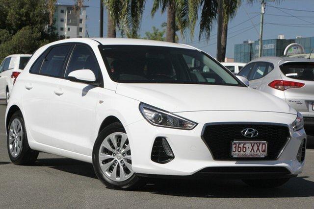 Used Hyundai i30 PD MY18 Active, 2017 Hyundai i30 PD MY18 Active White 6 Speed Manual Hatchback
