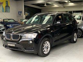 2013 BMW X3 F25 xDrive20d Black Automatic Wagon