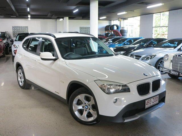 Used BMW X1 E84 MY0312 sDrive18i Steptronic, 2012 BMW X1 E84 MY0312 sDrive18i Steptronic White 6 Speed Sports Automatic Wagon