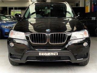 2013 BMW X3 F25 xDrive20d Black Automatic Wagon.