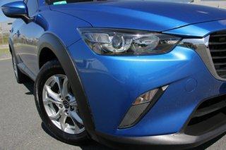 2015 Mazda CX-3 DK Maxx (FWD) Dynamic Blue 6 Speed Automatic Wagon.