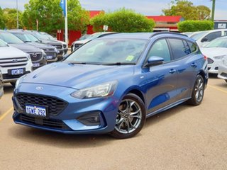 2019 Ford Focus SA 2019.25MY ST-Line Blue 8 Speed Automatic Wagon.