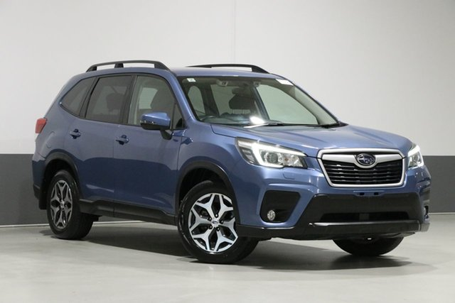 Used Subaru Forester MY19 2.5I-L (AWD), 2018 Subaru Forester MY19 2.5I-L (AWD) Horizon Blue Continuous Variable Wagon