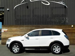 2011 Holden Captiva CG Series II 7 SX White 6 Speed Sports Automatic Wagon