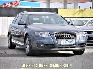 2007 Audi Allroad 4F Blue Sports Automatic Wagon.