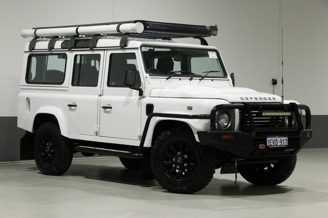 Used Land Rover Defender MY15 110 (4x4), 2015 Land Rover Defender MY15 110 (4x4) White 6 Speed Manual Wagon