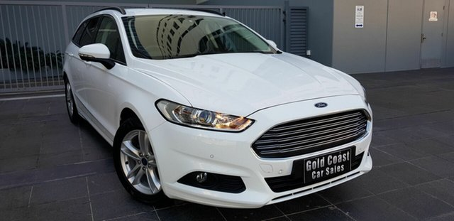 Used Ford Mondeo MD Ambiente TDCi, 2015 Ford Mondeo MD Ambiente TDCi White 6 Speed Automatic Wagon