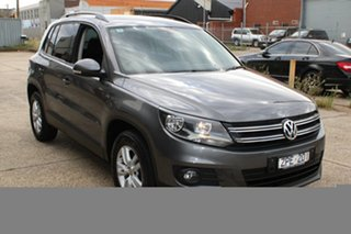 2012 Volkswagen Tiguan 5NC MY13 103 TDI Grey 7 Speed Auto Direct Shift Wagon.