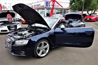 2009 Audi S5 8T MY10 S Tronic Quattro Blue 7 Speed Sports Automatic Dual Clutch Cabriolet