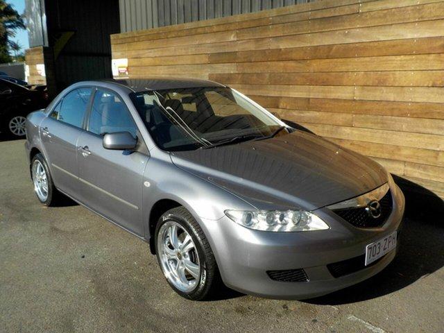 Used Mazda 6 GG1031 MY04 Classic, 2004 Mazda 6 GG1031 MY04 Classic Grey 4 Speed Sports Automatic Sedan