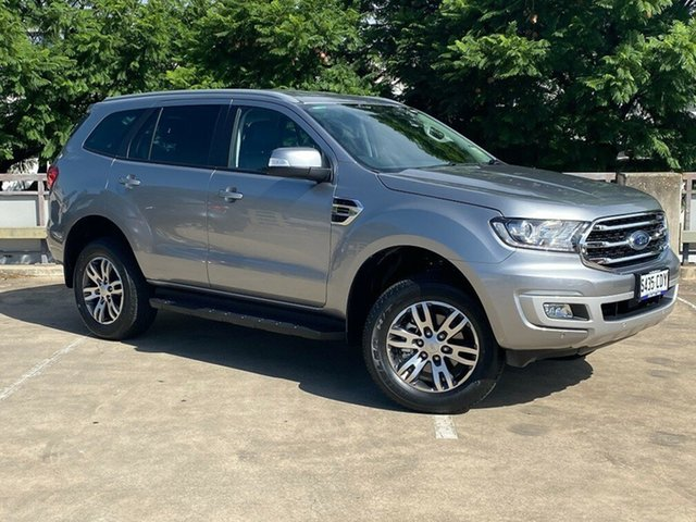 Demo Ford Everest UA II 2019.00MY Trend 4WD, 2019 Ford Everest UA II 2019.00MY Trend 4WD Aluminium 10 Speed Sports Automatic Wagon