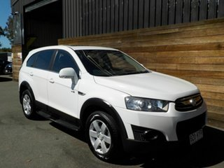 2011 Holden Captiva CG Series II 7 SX White 6 Speed Sports Automatic Wagon.