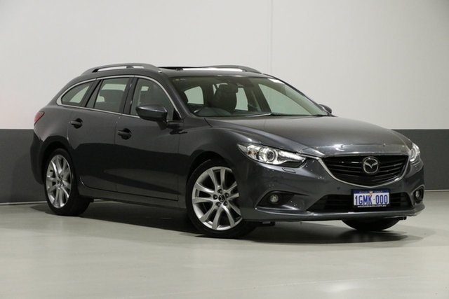 Used Mazda 6 6C Atenza, 2013 Mazda 6 6C Atenza Grey 6 Speed Automatic Wagon