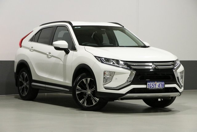 Used Mitsubishi Eclipse Cross YA MY18 LS (2WD), 2019 Mitsubishi Eclipse Cross YA MY18 LS (2WD) White Continuous Variable Wagon