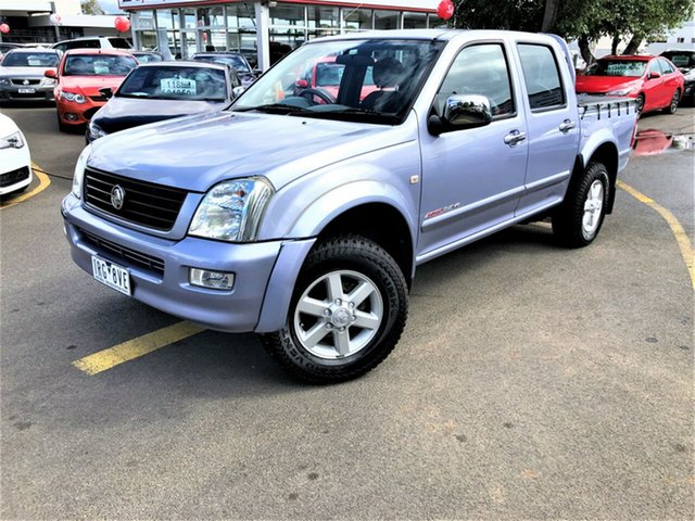Used Holden Rodeo RA LT Crew Cab, 2003 Holden Rodeo RA LT Crew Cab Blue 5 Speed Manual Utility
