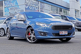 2016 Ford Falcon FG X XR8 Blue 6 Speed Sports Automatic Sedan.