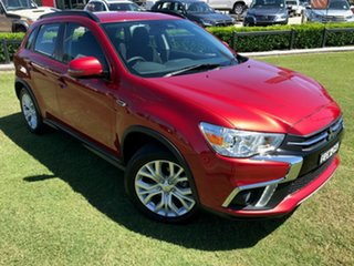 2019 Mitsubishi ASX XD MY20 ES 2WD ADAS Red 6 Speed Constant Variable Wagon.
