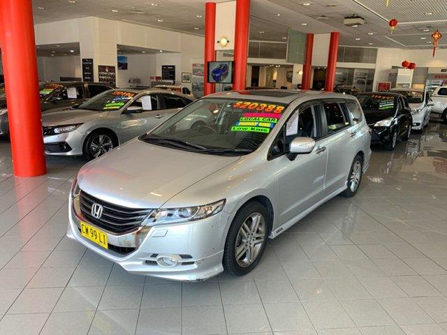 Used Honda Odyssey 4th Gen MY10 Luxury, 2010 Honda Odyssey 4th Gen MY10 Luxury Silver 5 Speed Sports Automatic Wagon