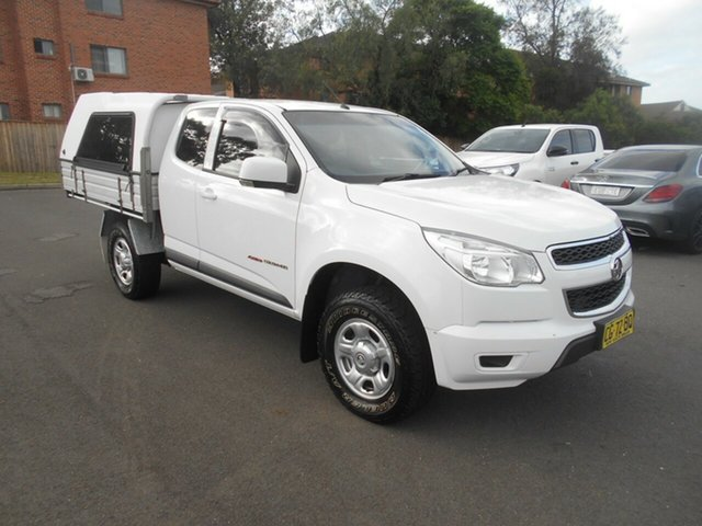 Used Holden Colorado RG MY16 LS (4x4), 2016 Holden Colorado RG MY16 LS (4x4) White 6 Speed Automatic Space Cab Chassis