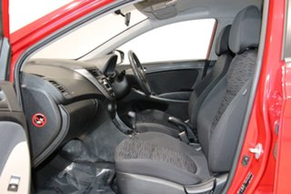 2016 Hyundai Accent RB3 MY16 Active Red 6 Speed CVT Auto Sequential Sedan