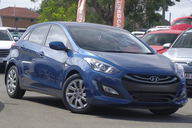 Used Hyundai i30 GD2 Active, 2013 Hyundai i30 GD2 Active Dazzling Blue 6 Speed Sports Automatic Hatchback