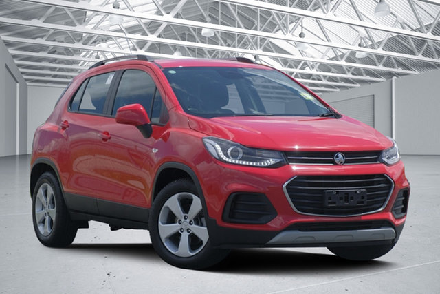 Used Holden Trax TJ MY18 LS, 2018 Holden Trax TJ MY18 LS Absolute Red 6 Speed Automatic Wagon