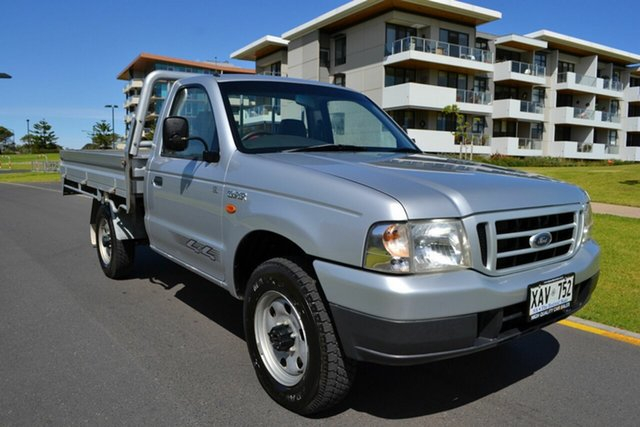 Used Ford Courier PG GL, 2003 Ford Courier PG GL Silver 5 Speed Manual Cab Chassis