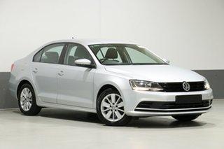 2015 Volkswagen Jetta 1KM MY16 118 TSI Trendline Silver 7 Speed Auto Direct Shift Sedan.